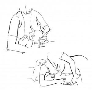 Alternative Breastfeeding Positions After A Caesarean